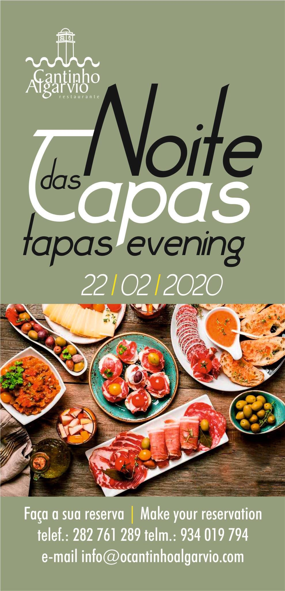An evening of Tapas…
